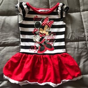 Disney infant girls Minnie Mouse dress
